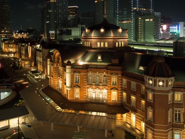 東京駅夜景スポット